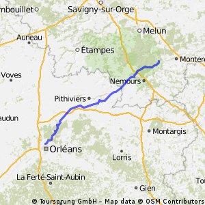 JackyTraining - Orléans / Moret-sur-Loing