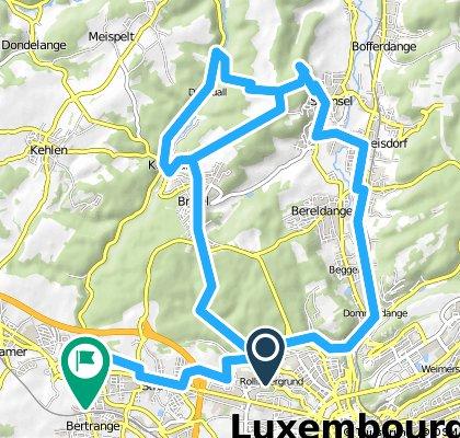 Parcours Montagne - Steesel / Briddel