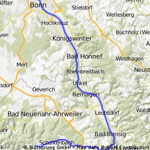 Bonn - Remagen - Ramersbach
