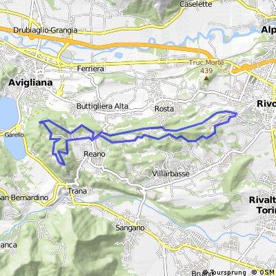 RIVOLI - MONCUNI (panoramic single track)