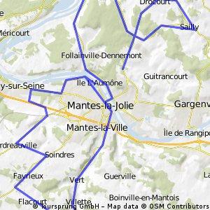 1.Mantes-la-Jolie / Mantes-la-Jolie km.162,5