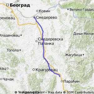 Smederevo - Cuprija (tappa 8)