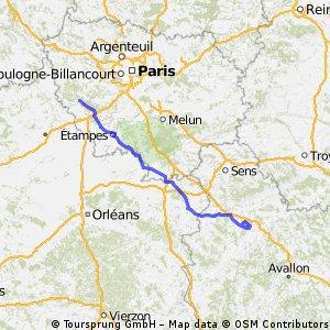 Rambouillet / Saint-Georges-sur-Baulche km.205