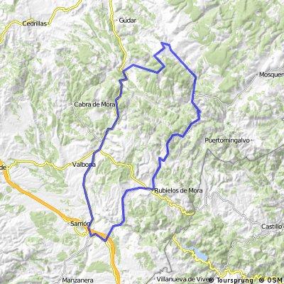 Venta del Aire-Rubielos-Linares-Valdelinares