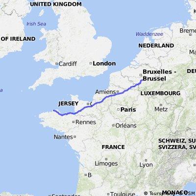 Voyage Marbisoux - Perros Guirec mai 2014
