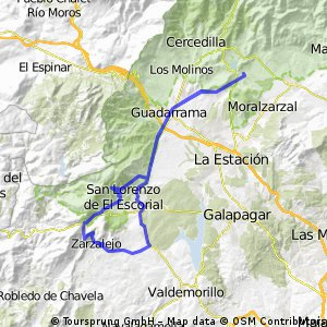 Becerril - Zarzalejo - Cruz Verde -Becerril