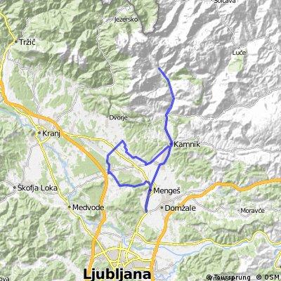 Trasa 51 (Kamniška Bistrica - Zalog pri Cerkljah)