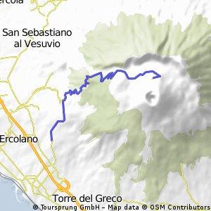Mount Vesuvio 10 km