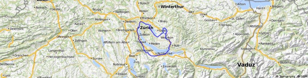 Grosse Zürcher Seen-Tour