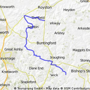 Hadham to Silver Ball