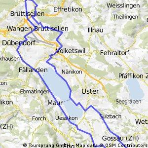Bassersdorf - Ottikon - Bassersdorf