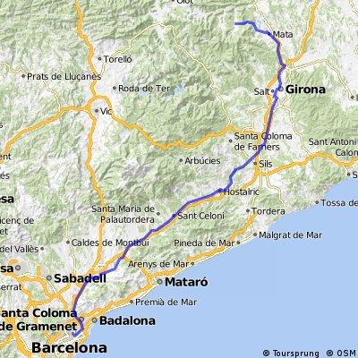 1. Barcelona - San Miguel de Camp Major