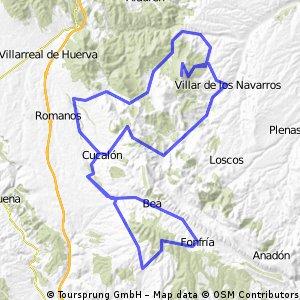 Villar de Los Navarros-Cucalón-Olalla-Fonfría-Cucalón Herrera de Los Navarros-Virgen de Herrera-V