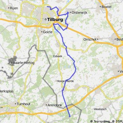 Tilburg - Postel (60 km)