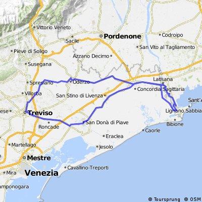 lange Runde Lignano ... 170 km