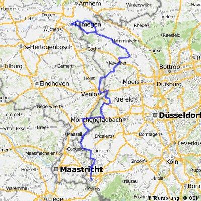 2007_2-Länder-Route_(Aachen - Roermond - Venlo - Geldern - Xanten - Kleve - Nijmegen - Kleve)