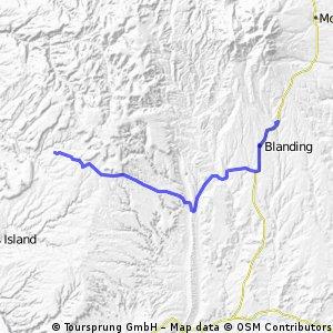 USA 25: Natural Bridges National Monument - Recapture Creek