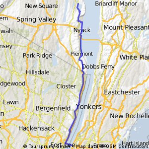 GWB to rockland reservoir CLONED FROM ROUTE 240319