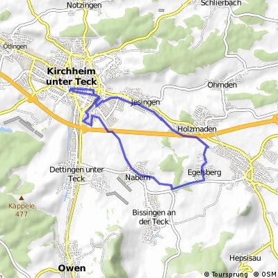 Kirchheim-Nabern-Weilheim-Jesingen-Kirchheim