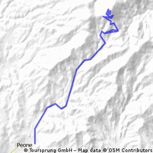 Mt. Spokane Summit Ride from Power Station