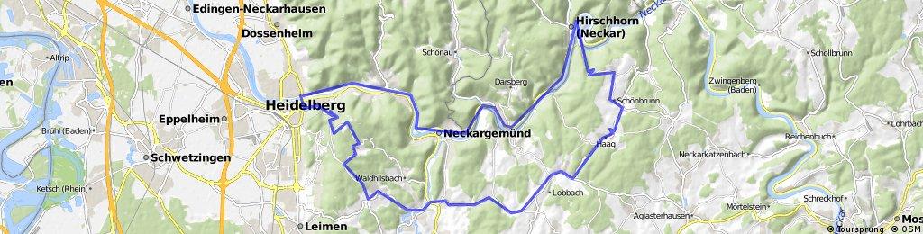 HD, Hirschhorn, Bammental, Königsstuhl