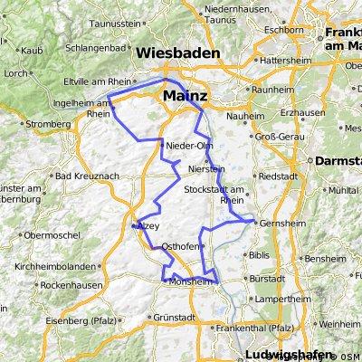 1990_Rheinhessen (Glan-Nahe-Rhein)_(Gernsheim - Worms - Alzey - Nieder-Olm - Ingelheim - Mainz - Gernsheim)