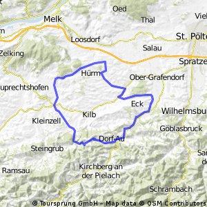 Mank-Panoramastrasse-Bischofstetten