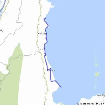 Cycling routes and bike maps in and around Changwat Chumphon ... on map of boulevard, map of destination, map of gear, map of region, map of mountain, map of freeway, map of weather, map of street, map of bridge, map of place, map of top, map of bay, map of course, map of circuit, map of name, map of store, map of del, map of port, map of trail, map of mall,