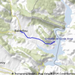 Baldellou al Pantà - Canoes Cafemn