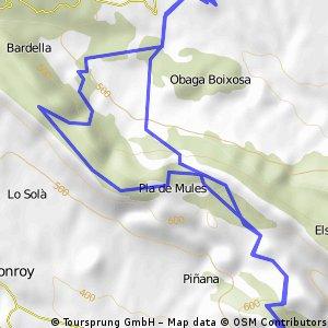 Ruta radial, Baldellou - Hermita Sant Salvador