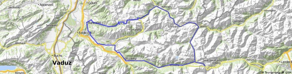 """""""Bregenzer Wald"""" - Variante 1"""