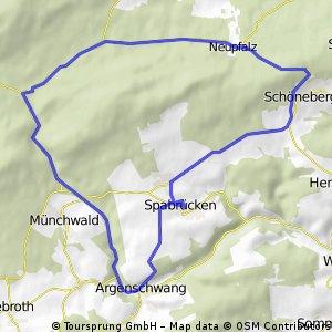 Kleine Spabrücker Wald Runde