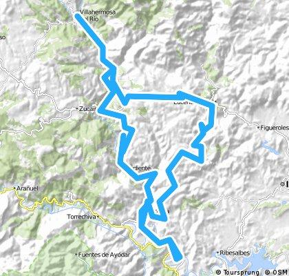 Fanzara-Argelita-Villaherrmosa-Lucena-Argelita