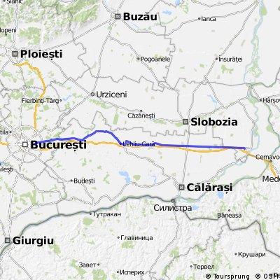 Bucuresti-Fundulea-Lehliu Gara-Dragalina-Fetesti