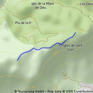 cruiilla cova santa- roca corbatera