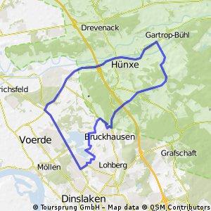 Standardrunde ca. 30km