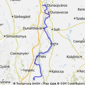 Paks-Dunaujváros