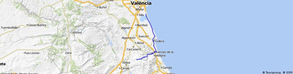 valencia, via culerra
