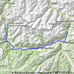 Obervinschgau bis Quellenhof