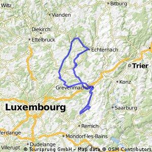 Tour de Luxembourg 2011 - RTF des Radsportclub Obermosel Wincheringen 1983 e.V. - 111 km Strecke