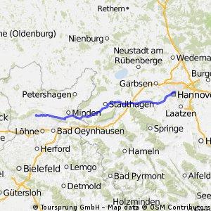 Hüllhorst- Hannover