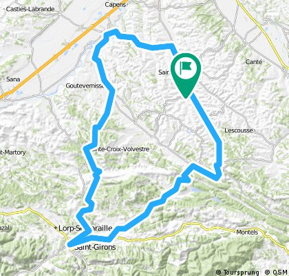 Low Level Tour Route 2 The Pyrenees Adventure Company