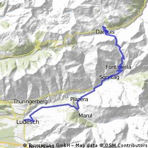 Thüringen-Faschinajoch