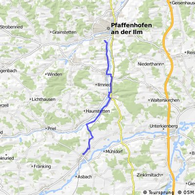 Petershausen S-Bahn - Ilmtalklinik Pfaffenhofen