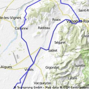 Villedieu, le col du Débat Vendredi 28.03.14