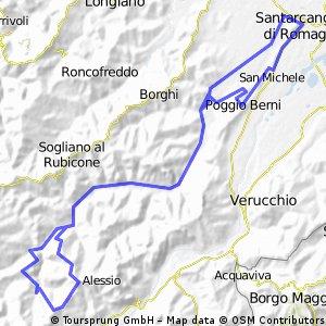 Santarcangelo Montetiffi Massamanente