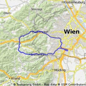 Vom Liesingbach ins Wiental
