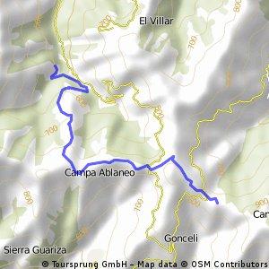 Ruta El Tendeyón - La Colladiella