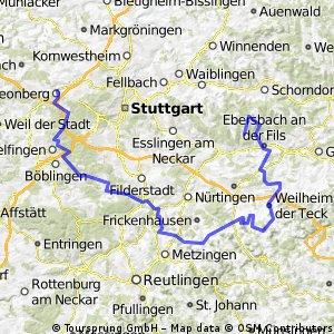 Lichtenwald nach Leonberg