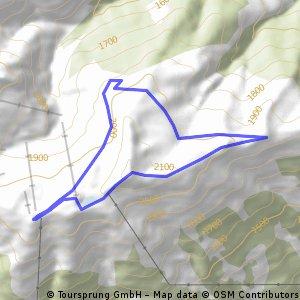 Wildkogel Schneeschuhtour